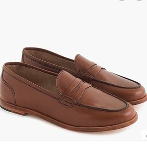 NWOT J CREW ryan penny loafers